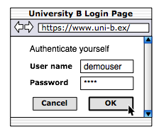 Authentication at HomeOrg