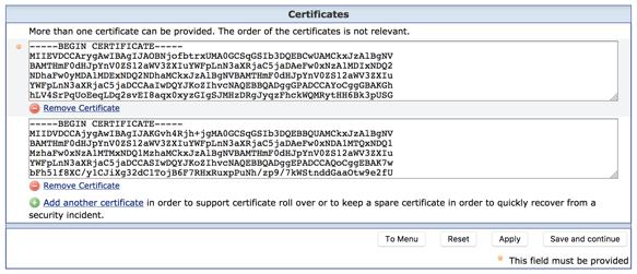 Shibboleth SP Certificate Rollover - Service Provider - Guides