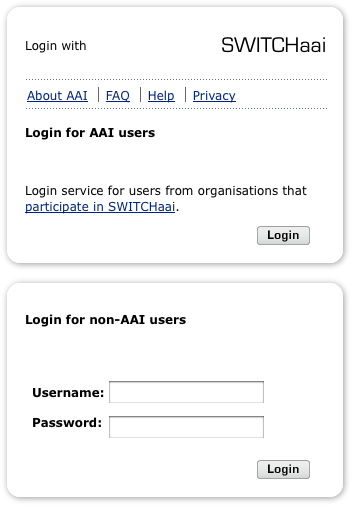Login Page Example