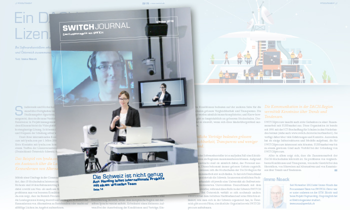 SWITCH Journal Publications About us SWITCH