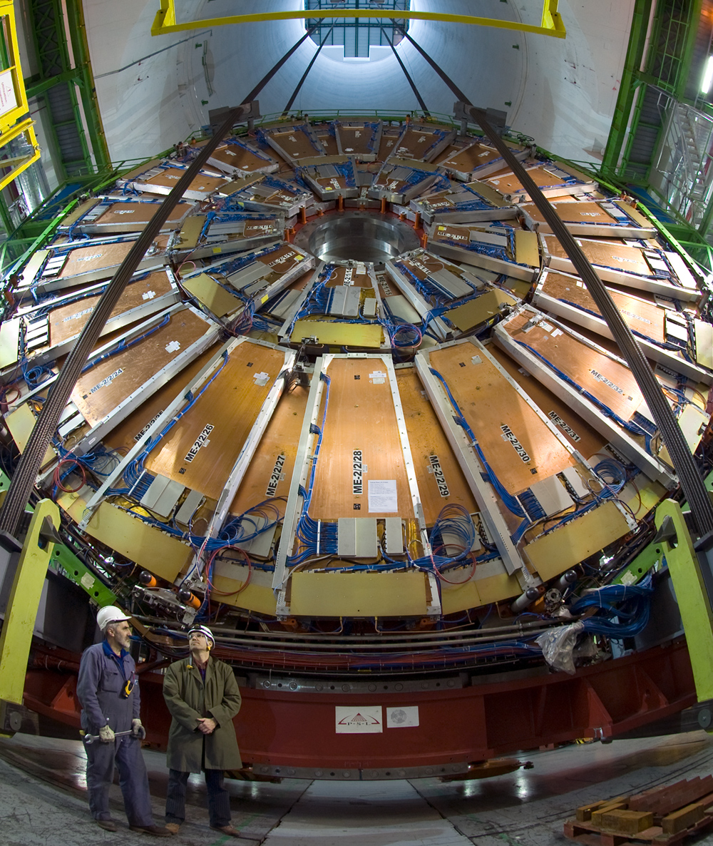 Compact Muon Solenoid detector at CERN. (Photo: CERN)